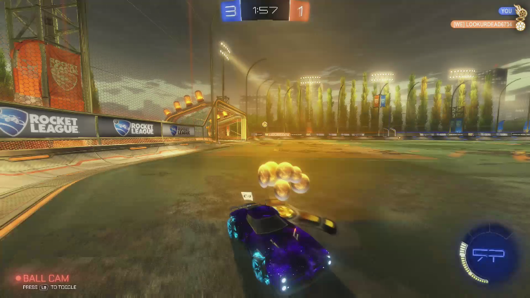 TyronicDevil playing Rocket League