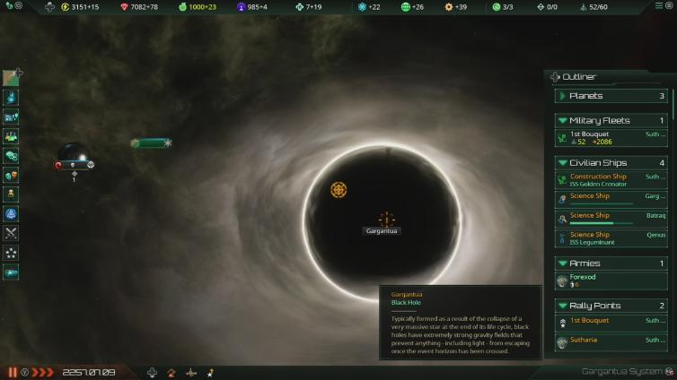 Gruntfire2 playing Stellaris: Console Edition