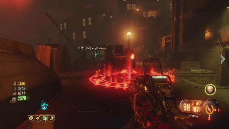 Sanhta playing Call of Duty: Black Ops III