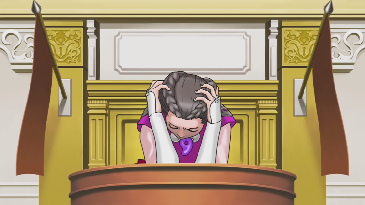 Antasma24 playing Phoenix Wright: Ace Attorney Trilogy